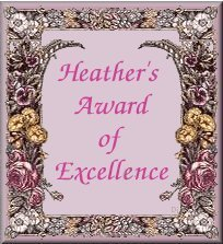Heather's Award Of Excellence
