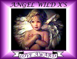 Peggy's Angel Wild X's Love Award