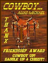 Cowboy's Friendship Award