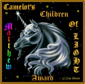 Camelot's Children of Light Award