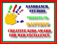Sanddancr Creative Kids Award