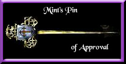 Mints Pin Of Approval